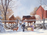 Christmas Art by Doug R Laird...