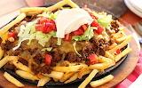 ^ Fully Loaded Cheesy Taco Fries