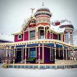 Victorian Home in the winter