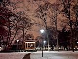 winterlicher Stadtgarten