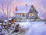 Winter Scene @ wallpapercave.com...