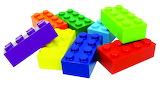 ^ Lego blocks