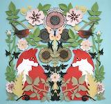 midsummer foxes, Helen Musselwhite