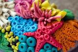 Handmade Plasticine Decor With Coral Reef