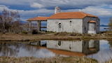 Old church, Messolonghi Wetlands, Greece