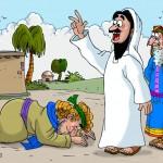 11. Jesús cura a un ciego