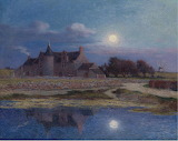 Kervaudu Under Clear Moon, Ferdinand du Puigaudeau
