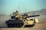 M551 Sheridan modified to look like T-80 1993 exercise