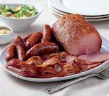 ^ Ham, sausage & bacon