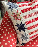 ^ Quilted pillow