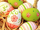 #Handpainted Easter Eggs