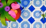 Tiles butterfly