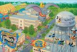 Flying Over Disney Studios
