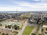 Brazilië Brasilia-Aerea-Eixo-Monumental