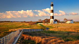 New Day at Bodie Island Lighthouse Naggs Head North Carolina USA