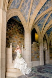 bride at Berry College