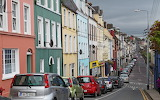 Houses in Cobh Harbour