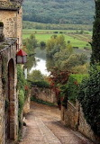 View of Beynac in the Périgord, Dordogne