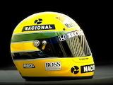 Ayrton Senna helm