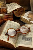Old reading glasses