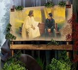 Jesus-man-bench-nature