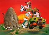 Mickey and Friends on Safari