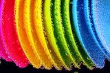 Colours-colorful-plastic-spoons-water-bubbles