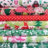 #Christmas Fabrics