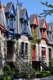 Neighborhood colors Montreal Canada