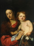 Virgin and Child by Sir Anthony van Dyck