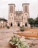 San Fernando Cathedral square San Antonio Texas