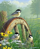 Chickadees ~ James Hautman