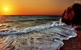 Por-do-sol-praia-wallpaper