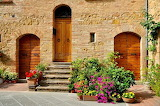 Traditional house in Pienza