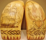 Scrimshaw – Antique Whale Tooth Art