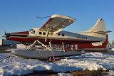 Katmai Air Turbo Otter at Lake Hood Anchorage Alaska