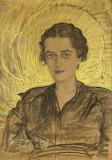 Stanisław Ignacy Witkiewicz, Portret Michaliny Filippi, 1936 .