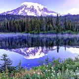 ☺♥ Spring day at Mount Rainier, USA...