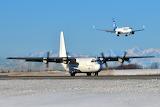 Cargo planes at Anchorage Alaska