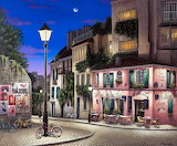 Paris city street