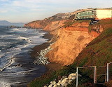 pacifica california - erosion