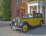 Yellow Rolls Royce