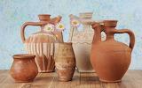 ceramic vases and pots