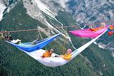Monte Piana,Festival hammocks