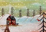 #Winter Scene by Karla Gerard