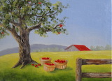 ^ The Old Apple Tree ~ Janet Paden