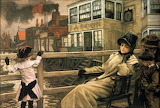 James Tissot, Waiting for the Ferry, ca 1878