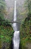 Bridge Multnomah Falls Oregon