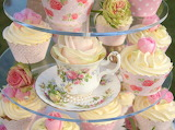 #Tea Party Cup Cakes