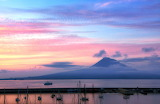Sunset. Pico Island. Azores